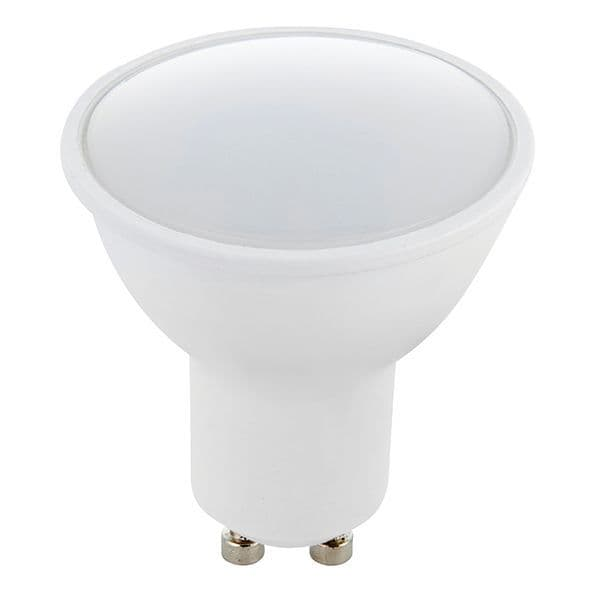 Saxby GU10 LED SMD Beam Angle 120 Degrees 6w Daylight White 78858 By Massive Lighting